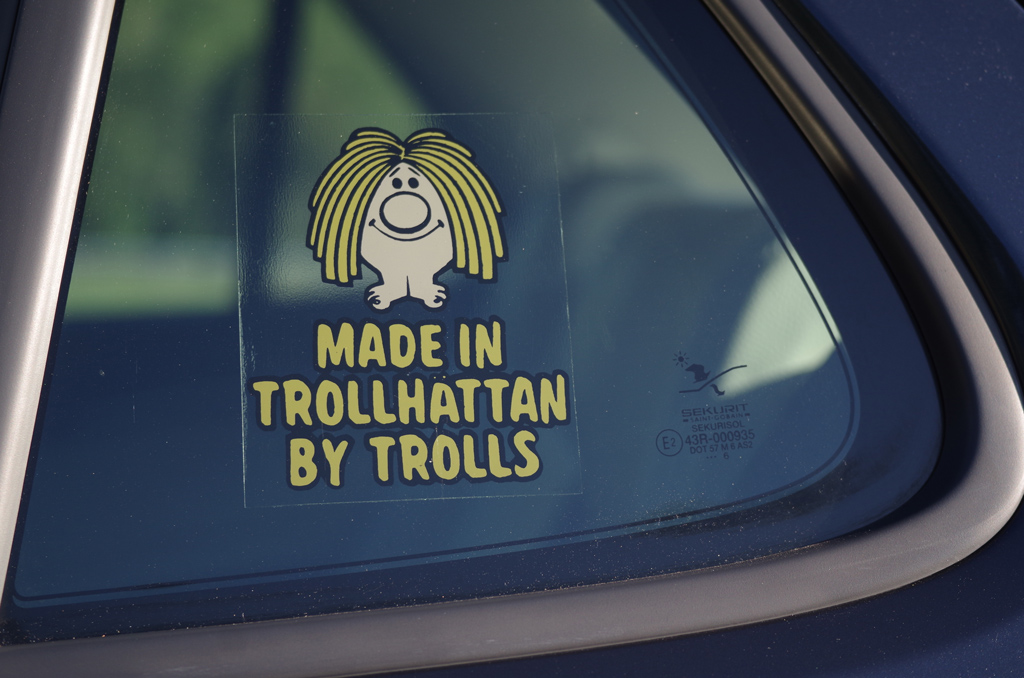 Made in Trollhättan by Trolls